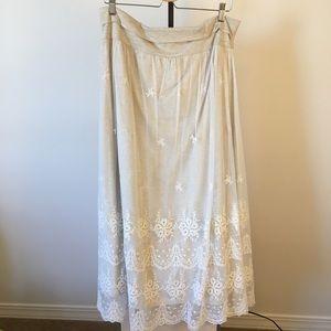 Sundance Great Lengths Lace Skirt